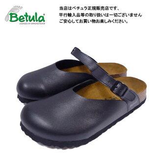 Betula by Birkenstock isel black clock / comfort Sandals Betula By Birkenstock Ijssel Black Birko-Flor