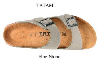 Birkenstock tatami Elbe stone Wilco flow TATAMI by Birkenstock Elbe Stone Birko-Flor Cork sandal sandal