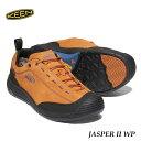 KEEN 1023872 メンズ ジャスパー ツー ウォータープルーフ キーン MENS JASPER II WP Pumpkin Spice/Black スニーカー アウトドア トレ..