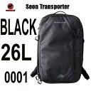 マムート 人気のブラック セオントランスポーター 26L リュック バックパック ビジネス ジム MAMMUT Seon Transporter 26L 2510-03910-0001 black