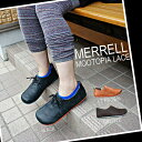 Point 10 times free shipping Merrell Mootopia Lace Womens 3Colors Bronte, Black, three colors of Light Brown メレルムートピアレースウィメンズ / Lady's OUTDOOR sneakers development