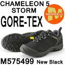 メレル カメレオン 5 ストームゴアテックス M575499 NEW BLACK Merrell CHAMELEON 5 STORM GORE-TEX メンズ アウトドア ゴアテックス スニーカー