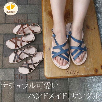 2013 Spring summer latest ♪! And easy to walk the trendiest sandals in stock now! Danske duck feet Sandals crepe sole Danske duckfeet DN0051 shoes women's Sandals pettanko boobs pettanko shoes summer shoes