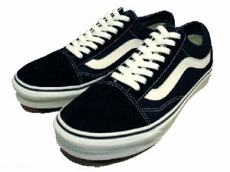 Vans old skool black / white ヴァンズスケート Shoes Sneakers Jazz VANS OLD SKOOL JAZZ Black/White