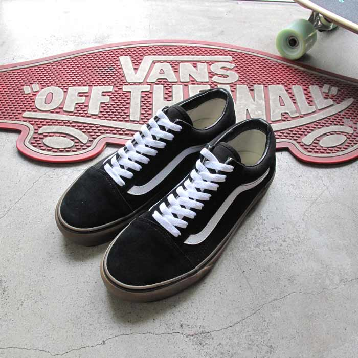 Vans Old Skool Black/Medium Gum