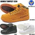 AVIREX AV1230 TEMPEST アビレックス テンペスト アウトドア スニーカーブーツ 靴 ミッドカット ダンス ヒップホップ B系ファッション B-BOY 本革 メンズ シューズ ユニセックス 1310