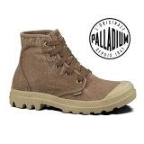 ◆レビューを書いて◆ PALLADIUM PAMPA HI STONEWASHED DARKKHAKIパラディウム パンパ レースアップ ハイカット スニーカー メンズ 男性用 靴 1407