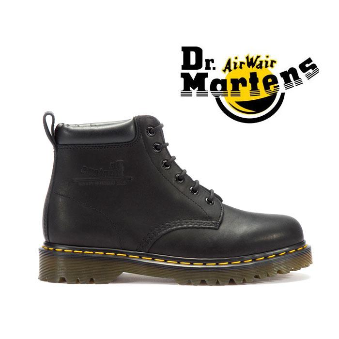 送料無料 ドクターマーチン 6ホール レースアップブーツ Dr.Martens CORE 939Z BLACK 靴 レザー シューズ ワークブーツ 黒 ブラック 男性用 女性用 メンズ レディース ユニセックス ミッドカット 1208
