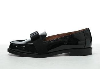 【送料無料】【DIEGOBELLINIディエゴベリーニ】D2733エナメルリボンローファーフラットシューズイタリア製レディース女性用おじ靴140221vb