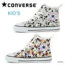 コンバース チャイルド オールスター ミッキーマウス HI スニーカー キッズ ジュニア 子ども ハイカット キャンバス ディズニー 子供靴 CONVERSE CHILD ALL STAR N MICKEY MOUSE PT Z HI 送料無料