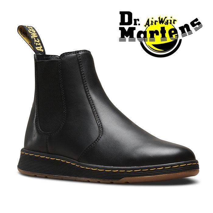 【送料無料】ドクターマーチン DMSライト グレイソン チェルシーブーツ サイドゴア ブーツ メンズ レディース ブラック 黒 Dr.Martens DMS LITE GRAYSON 23881001 BLACK