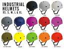INDUSTRIAL HELMET インダストリアル ヘルメット プロテクター スケートボード スケボー BMX 自転車 パッド ガード 防具 子供から大人まで...
