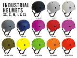 INDUSTRIAL HELMET インダストリアル ヘルメット プロテクター スケートボード スケボー BMX 自転車 パッド ガード 防具 子供から大人まで対応の豊富なサイズとカラー sgs