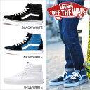 送料無料 VANS SK8 HI 【BLACK NAVY TRUE WHITE】 バンズ ヴァンズ スケートハイ 【ブラック ネイビー ホワイト】 ハイトップ スケートシューズ キャンバス スウェード
