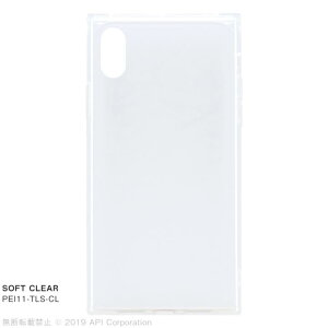 EYLE TILE SOFT CLEAR iPhoneケース for iPhone XR