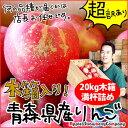 青森 りんご 20kg 木箱入り 産地直送「超」訳あり20k...