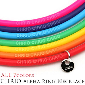 ���ꥪ����ե���󥰥ͥå��쥹��CHRIO��ChrioALPHARingNecklace(chrio-alpha-ring)