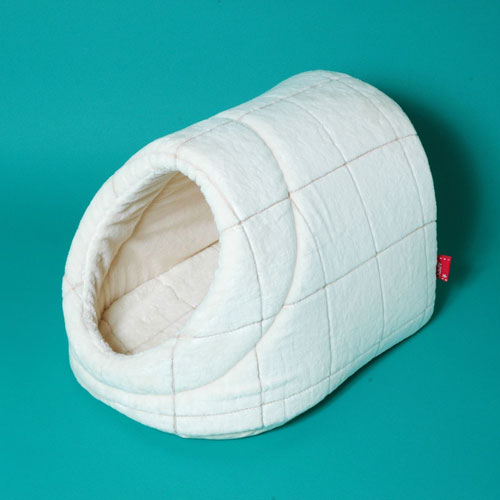 シール織りウィンドペン柄ドーム型SS犬ベッドのappydog10P01Oct16 【APPY DOG】オーガニックコットン【 2kg以下のチワワなどに最適商品】【犬のベッド】【送料無料】