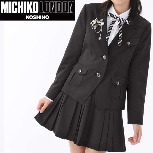 2501-2522 【30%OFF】卒業式 ミリタリージャケットのフォーマル スーツ 女の子 MICHIKO LONDON KOSHINO/ミチコロンドン ロックスタイル 150cm 160cm 165cm