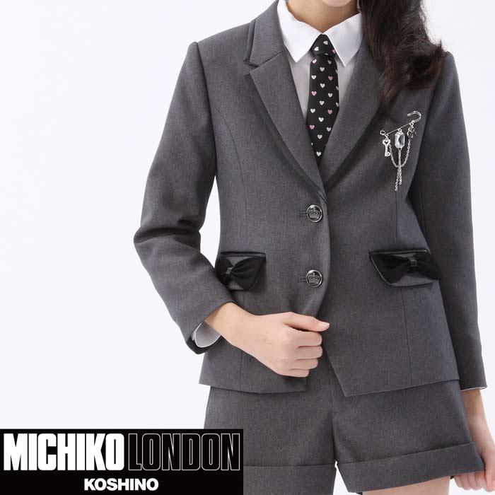 2501-2323【送料無料】スーツ 女の子 入学式フォーマルスーツ リボン使いがかわいいショートパンツスーツ MICHIKO LONDON KOSHINO/ミチコロンドン 115cm 120cm 130cm