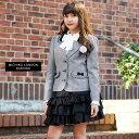 【卒業式 スーツ 女の子】2701-350 スーツセット ジ...