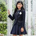 【55%OFF】【卒業式 スーツ 女の子 小学生 卒服】4901-2594 タックレーススカートスー