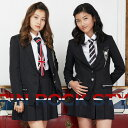 【8%OFF】【卒業式 スーツ 女の子 小学生】8901-2503 ダブルタイ ロックスタイル キュ