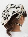 【メール便対応可】【日本製】三角巾(プチリーフ) 北欧 大人用 エプロン かわいい おしゃれ 綿10