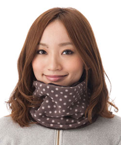 Had wide neck warmer [unisex; neck warmer: 1435