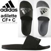 adidas アディダス シャワー サンダル スポーツサンダル アディレッタ スーパークラウド+ メンズ レディース 靴 シューズ ビーチ 海 プール/adilette