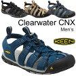 送料無料 KEEN キーン クリアウォーター CNX メンズ 男性 CLEAR WATER CNX/水陸兼用 スポーツサンダル アウトドア シューズ キャンプ フェス カジュアル