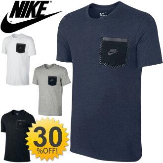 Nike 耐克男式襯衫短袖反光口袋 T 襯衫運動訓練穿休閒男裝 t 恤耐克標誌日積月累 / 739599