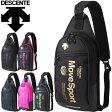 ボディーバッグ デサント DESCENT MoveSpors カジュアルバッグ 斜めがけ ワンショルダーバッグ 鞄 スポーツバッグ メンズ レディース ポーチ 試合 遠征 合宿 移動バッグ/DAC-8674