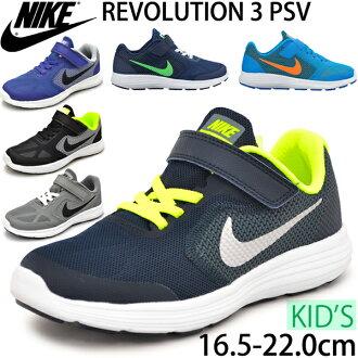 Nike 耐克 / 運動鞋鞋鞋類 / 初級革命 3 PSV/革命 / 經紀商 / 孩子的童鞋 / 819414