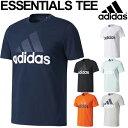 半袖 Tシャツ メンズ アディダス adidas ESSENTIALS ビッグロゴ ロゴT クルーネック スポー