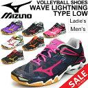 バレーボールシューズ メンズ レディース Mizuno ミズノ WAVE LIGHTNING TYPE LOW  限定カラー ウエーブライトニング ローカット バレーシューズ 練習 部活 試合 競技 スポーツ 靴 V1GX-150000