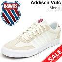 ケースイス メンズシューズ K-SWISS Addison Vulc アディソン スニーカー 男性用 ローカット コートタイプ 靴 75616-191 くつ/AddisonVulc