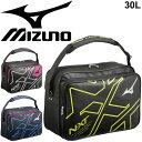 ショルダーバッグ メンズ レディース ミズノ mizuno N-XT エナメルバッグ Lサイズ 約10L/スポーツバッグ 斜めがけ ビッグロゴ ジム 通学 部活 試合 普段使い 鞄 かばん/33JS9002