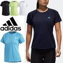 Tシャツ 半袖 レディース アディダス adidas W 定番ロゴ ワンポイント TEE スポーツウェア トレーニング フィットネス ランニング 女性用 半袖シャツ トップス/FTF32