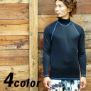 "[61% OFF] as for the arrival at six colors of ☆"" comfort where AROPEC/ allopeck ☆ is something rush guard long sleeves, men [60180000] which are it"