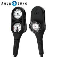 ゲージ AQUALUNG/アクアラング プレシス3ゲージ(残圧計+水深計+コンパス)の画像