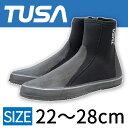 ダイビング用ブーツ TUSA/ツサ ダイビング用ロングブーツ DB-3014 ファスナー付き