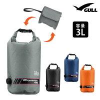 防水バッグ GULL/ガル ウォータープロテクトバッグ Sサイズ 3L ドラム型形状 防水 プールバッグ アウトドアの画像