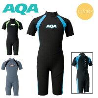 ウエットスーツ 子ども用 AQA キッズスーツスプリングII KW-4504Aの画像