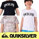 QUIKSILVER クイックシルバー ラッシュガード キッズ MW LIFE SS KIDS KLY172110