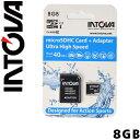 INTOVA micro SDカード 8GB Class 10 マイクロSDカード