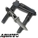 【ダイビングナイフ】AQUATEC/アクアテック タイガーナイフ チタニウム[803760020000]