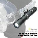 【水中ライト】AQUATEC/アクアテックLED水中ライト Aqua-No.1 LED ヘッドライトマリンスポーツ シュノーケル スキューバダイビング ダイビング シュノーケリング スノーケリング スノーケル 防水 ledライト クリップ式 マスク ミニライト