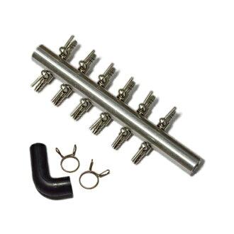 [標準尺寸可用︰ 鋁合金、 鋁合金叉管平行 12-鋼絞線與其他手 L 形軟管與空氣管空氣泵風機