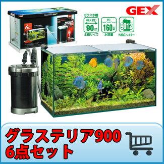GEX���饹�ƥꥢ�������������åȥ��饹����90cm����